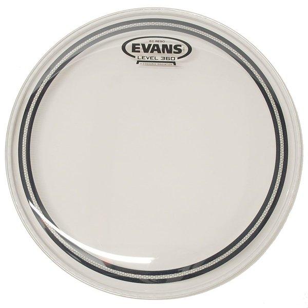 """Evans Evans EC Resonant Clear 14"""" Tom Drumhead"""