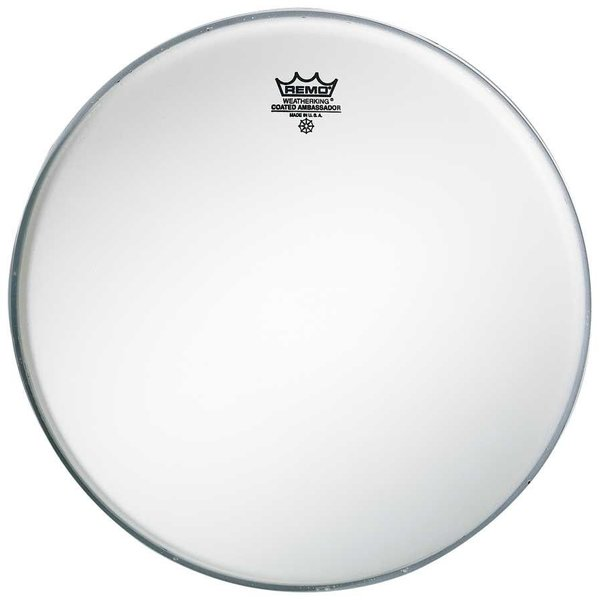 "Remo Remo Drumhead Batter Weatherking 5-Mil Thin Coated 13"" Diameter"