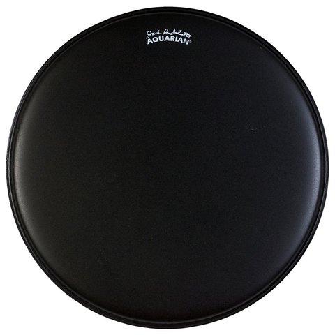 "Aquarian Texture Coated 16"" Bass Drumhead - Black"