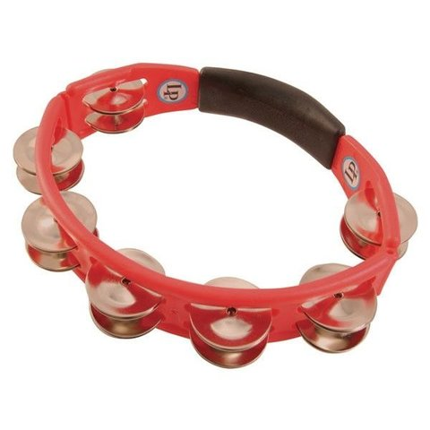 LP Cyclops Hand Tambourine, Red