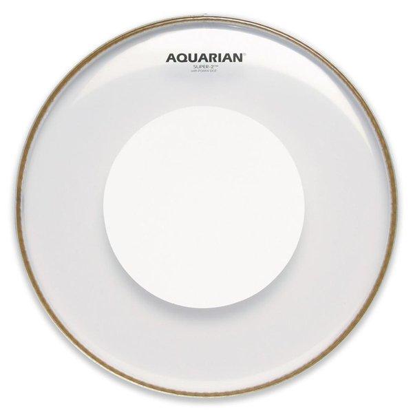 "Aquarian Aquarian Super-2 Series 12"" (2-Ply) Drumhead with Power Dot"