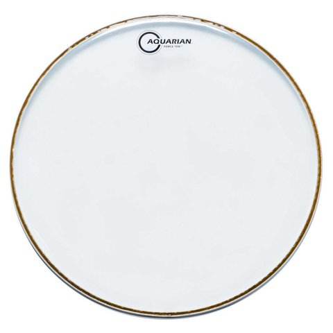 "Aquarian Force Ten 13"" Drumhead - Clear"