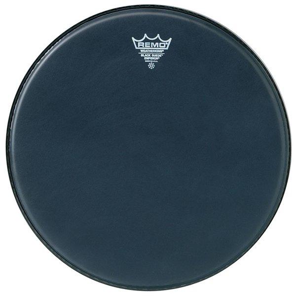 """Remo Remo Black Suede Emperor 16"""" Diameter Batter Drumhead"""