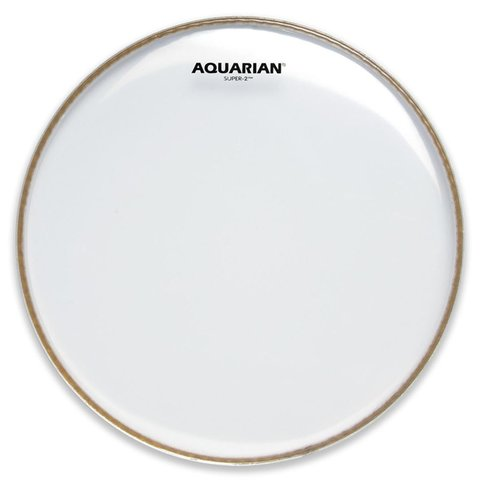 "Aquarian Super-2 Series 12"" (2-Ply) Drumhead"