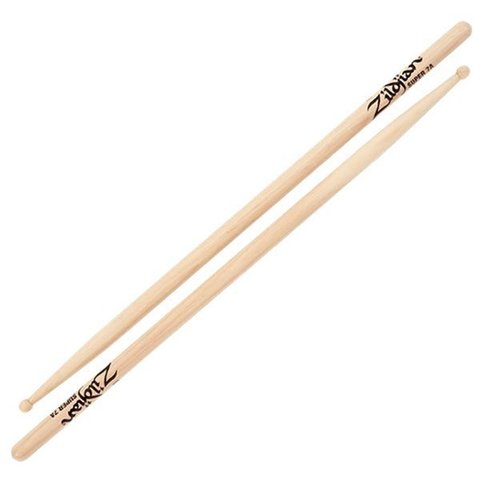 Zildjian 7A Super Wood Natural Drumsticks