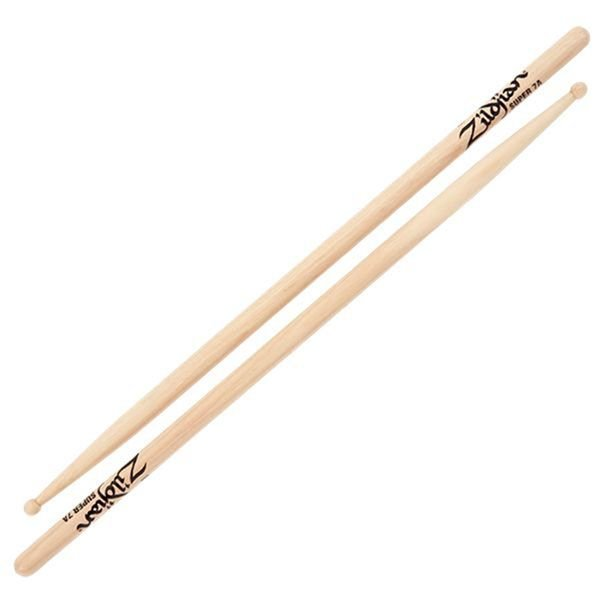 Zildjian Zildjian 7A Super Wood Natural Drumsticks