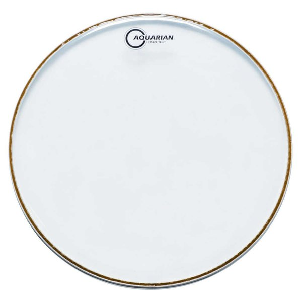 "Aquarian Aquarian Force Ten 14"" Drumhead - Clear"