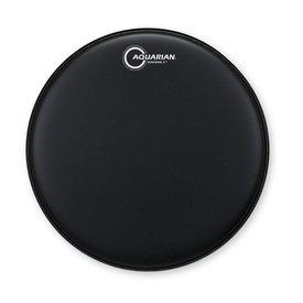 "Aquarian Aquarian Response 2 Series Texture Coated 16"" (2-Ply) Drumhead - Black"