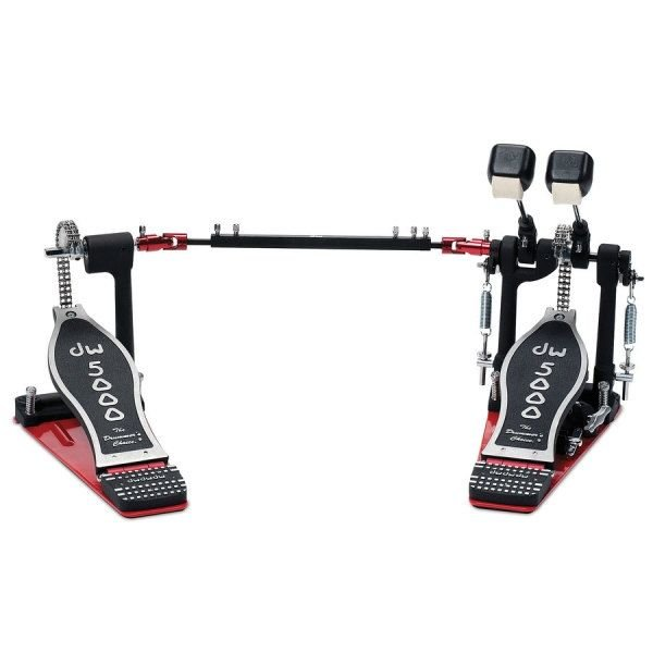 DW DW 5000 Series Delta IV Double Accelerator Bass Drum Pedal with Case
