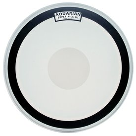 "Aquarian Aquarian Super-Kick Series Texture Coated 24"" (1-Ply) Drumhead with Power Dot"