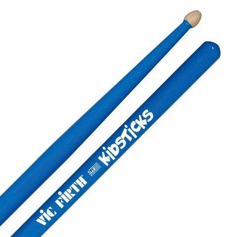 Vic Firth Kidsticks Drumsticks with Blue Finish
