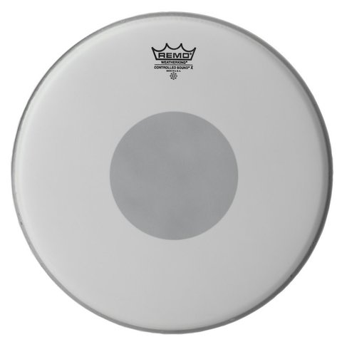 """Remo Coated Controlled Sound x 14"""" Diameter Batter Drumhead - Black Dot on Bottom"""