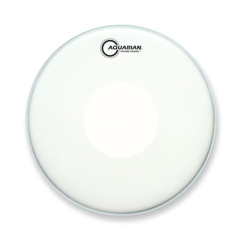 "Aquarian Texture Coated 13"" Drumhead with Power Dot Underside"