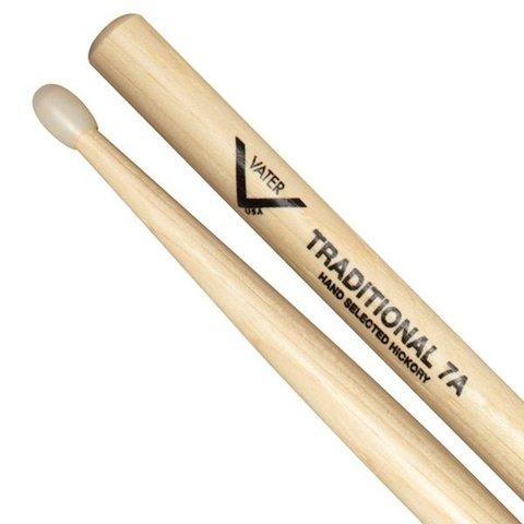 Vater Traditional 7A Nylon Tip Drumsticks