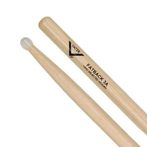 Vater 3A Nylon Tip Drumsticks