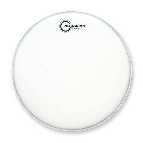 "Aquarian Response 2 Series Texture Coated 14"" (2-Ply) Drumhead"