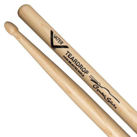 Vater Cymbal Teardrop Wood Tip Drumsticks