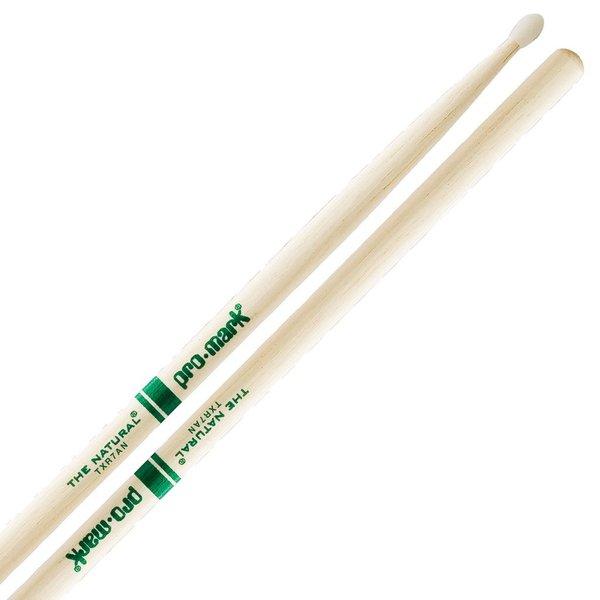 "Promark Hickory 7A Nylon Tip ""Natural"" Drumsticks"