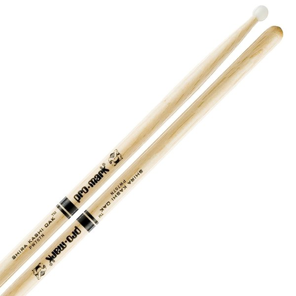 Promark Oak 707 Nylon Tip Drumsticks
