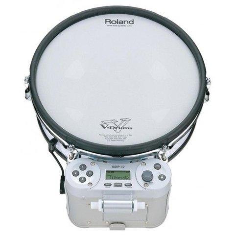 "Roland RMP-12 Rhythm Coach / Marching Percussion - 12"" dual-trigger mesh V-Pad"