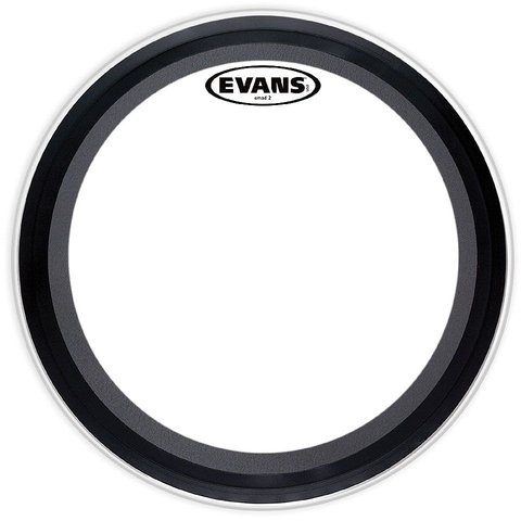 "Evans EMAD2 Clear 24"" Bass Drumhead"