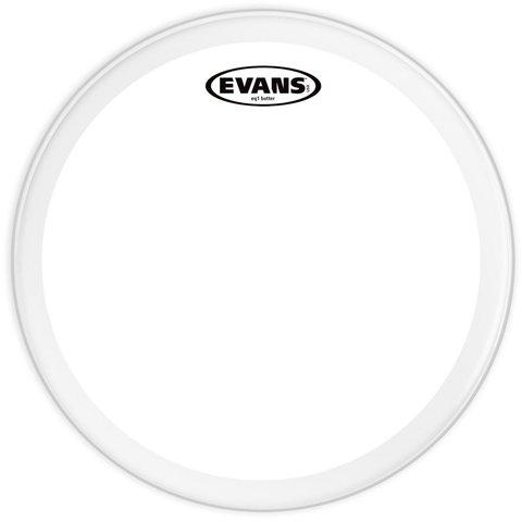 """Evans EQ1 Clear 20"""" Bass Drumhead"""