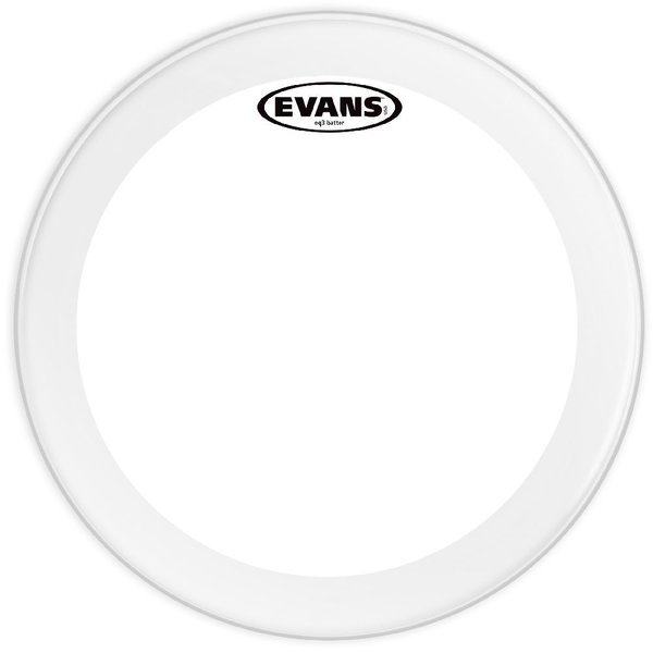 "Evans Evans EQ3 Coated 24"" Bass Drumhead"