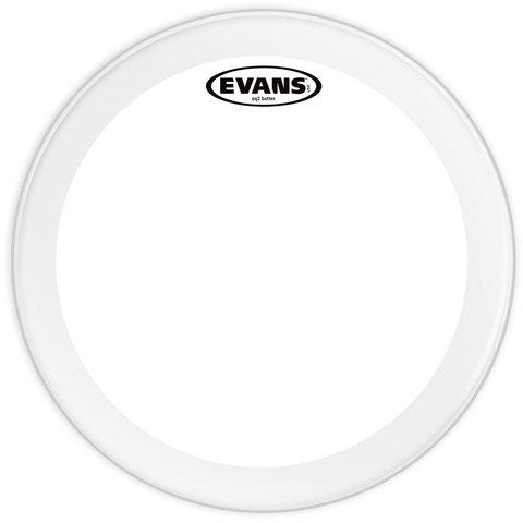 """Evans EQ2 Clear 18"""" Bass Drumhead"""