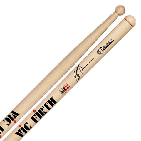 Vic Firth Corpsmaster - Signature Snare - Jeff Queen Solo Stick Drumsticks