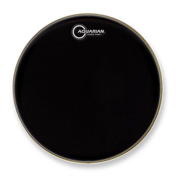 """Aquarian Aquarian Classic Clear Series 10"""" Drumhead - Black"""