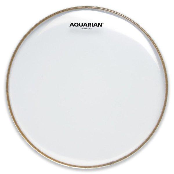 "Aquarian Aquarian Super-2 Series 10"" (2-Ply) Drumhead"