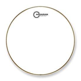 """Aquarian Aquarian Classic Clear Series 22"""" Drumhead - White"""