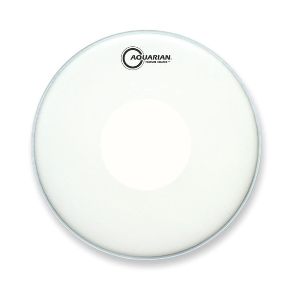 "Aquarian Aquarian Texture Coated 14"" Drumhead with Power Dot Underside"