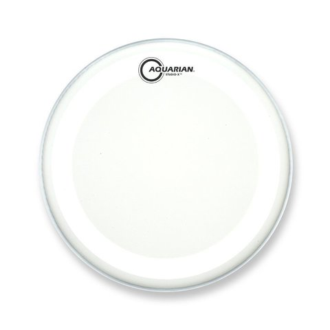 "Aquarian Studio-X Series Texture Coated 16"" Drumhead - White"