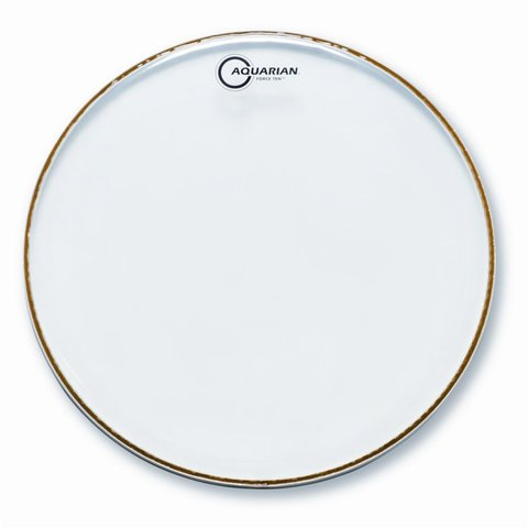"Aquarian Force Ten 8"" Drumhead - Clear"