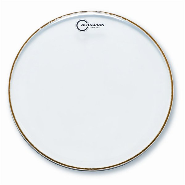 "Aquarian Aquarian Force Ten 8"" Drumhead - Clear"