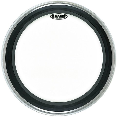 "Evans EMAD Clear 22"" Bass Drumhead"