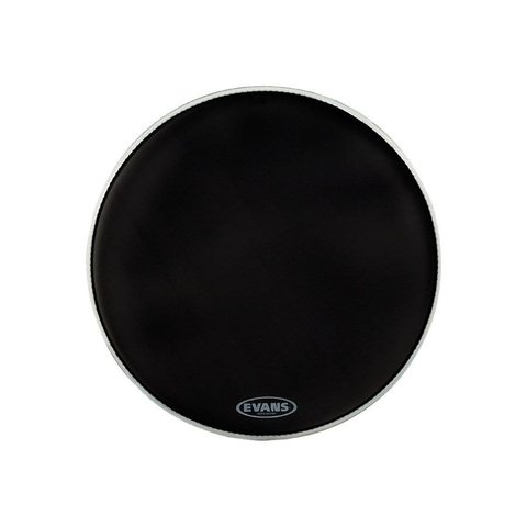 "Evans Retro Screen Black 22"" Bass Drumhead"