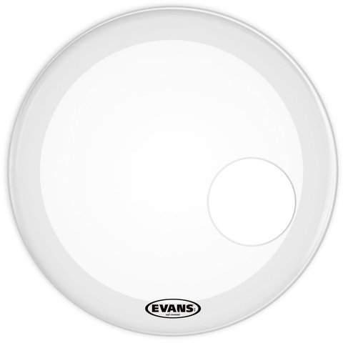 "Evans EQ3 Resonant Smooth White 22"" Bass Drumhead"