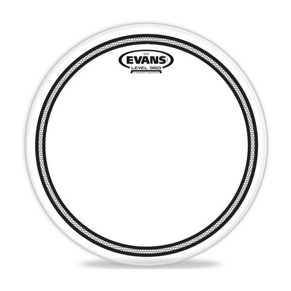 """Evans Evans EC2 Clear SST 15"""" Tom Drumhead"""