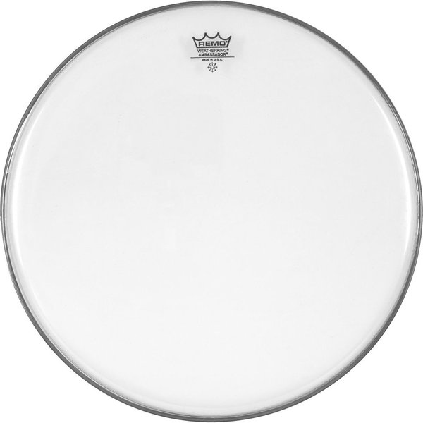 "Remo Remo Clear Ambassador 18"" Diameter Bass Drumhead"