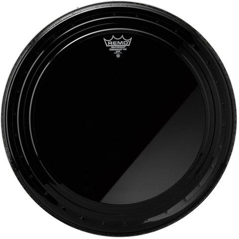 "Remo Ebony Powerstroke Pro 22"" Diameter Bass Drumhead"