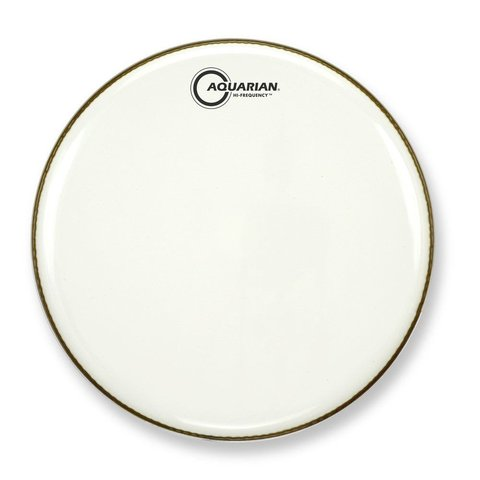 "Aquarian Hi-Frequency Series 12"" Thin Drumhead - White"