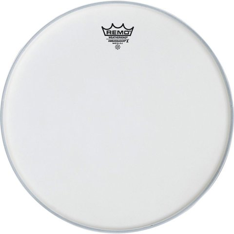 Remo Coated Ambassador X 15'' Diameter Batter Drumhead