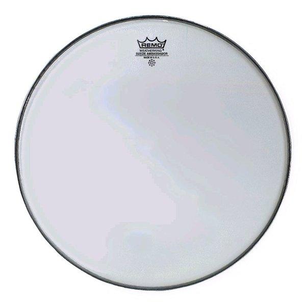 "Remo Remo Suede Ambassador 16"" Diameter Batter Drumhead"