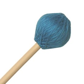 "Mike Balter Mike Balter 215B Chorale Series 17 5/8"" Soft Aqua Microfiber Marimba Mallets with Birch Handles"