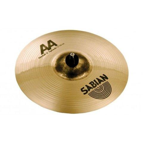 "Sabian AA 10"" Metal X Splash Cymbal Brilliant"