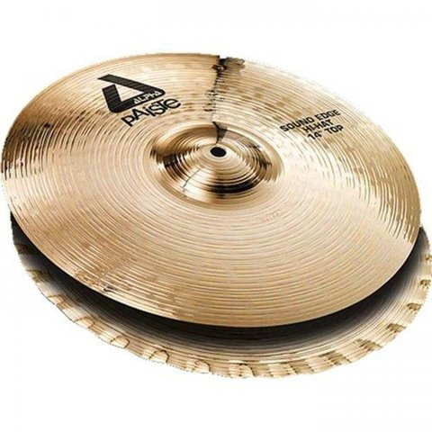 "Paiste Alpha 14"" 'B' Sound Edge Hi Hat Cymbals"