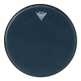 """Remo Remo Black Suede Emperor 24"""" Diameter Bass Drumhead"""