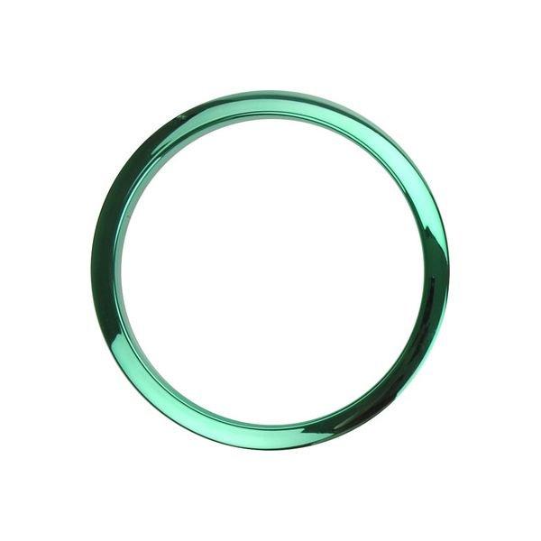 Bass Drum O's Bass Drum O's 2 Green Chrome Drum O's/Tom Ports (2-Pack)
